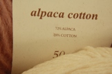 Alpaca cotton