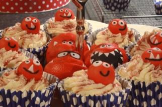 Cupcake close-up