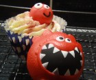 Nose meets cupcake!
