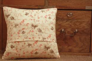 Butterfly envelope cushion by Mrs D
