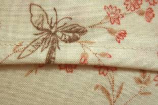 Butterfly envelope close-up