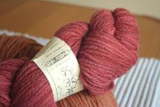 Stunning Shilasdair pink wool