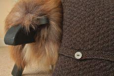 Coll cushion close-up