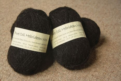Pure Coll Hebridean Wool