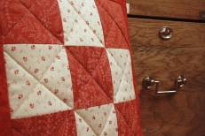 Patchwork cushion by Mrs D