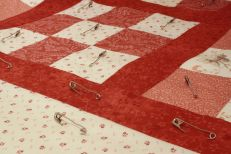 Quilt pins and border