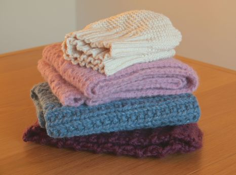 Collection of cosy knits by Mrs D