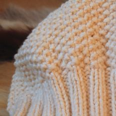 Beanie hat close-up