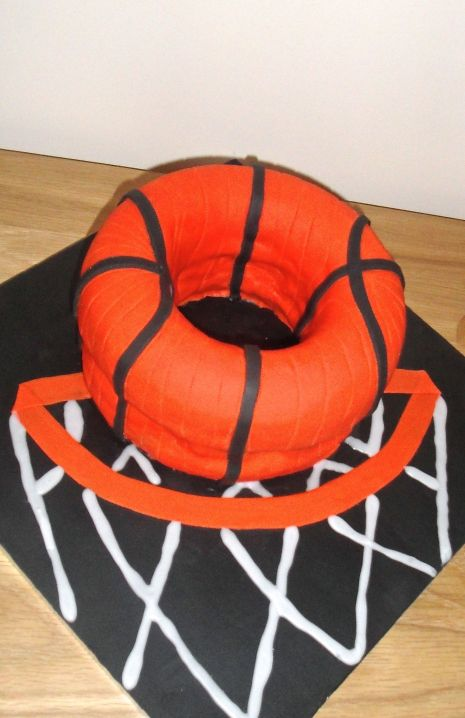 Basketball doughnut!