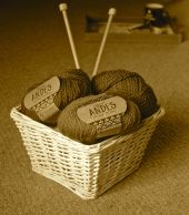 Knitting basket!