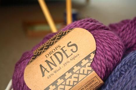 Drops Andes Wool/Alpaca blend