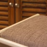 A comfy dressing stool!