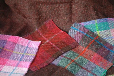Colourful Harris Tweed!