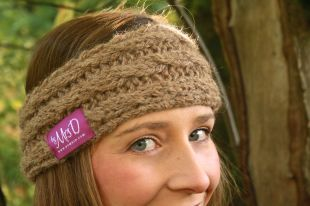 Click here to purchase the knitting pattern for the Cara Knitted Headband.
