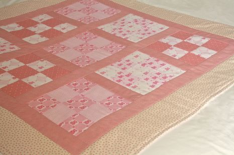 Baby quilt by Mrs D