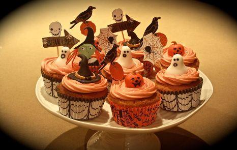 Spooky Cupcakes