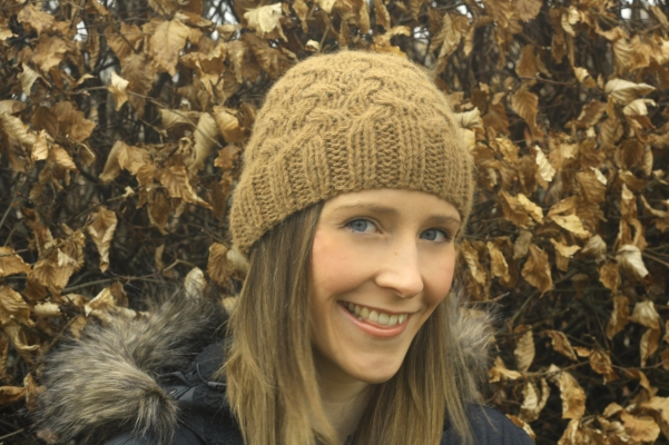 Click here to purchase the knitting pattern for the Berwick Beanie.
