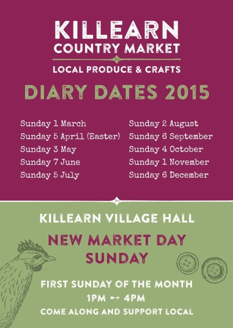 Killearn Market Dates 2015
