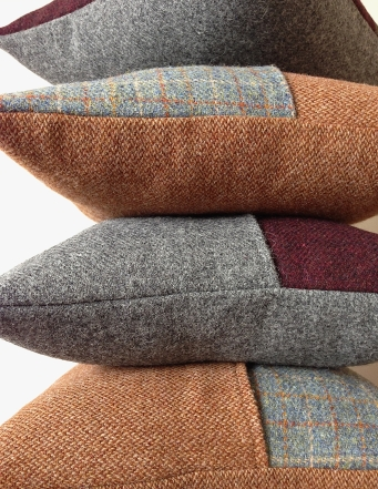 Click here to purchase your by Mrs D Harris Tweed Cushions